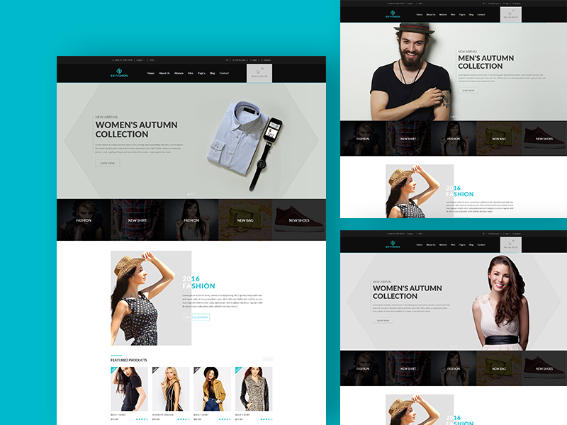 69 fashion - Free eCommerce Responsive Template