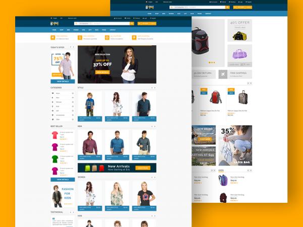 B-Sale - Free eCommerce Fashion Template