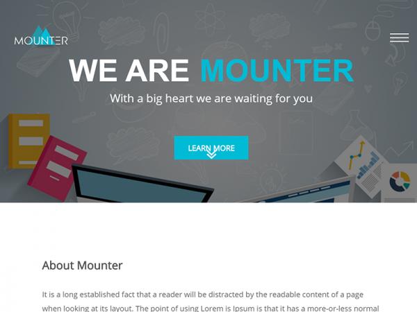 Mounter – Free Corporate HTML Template