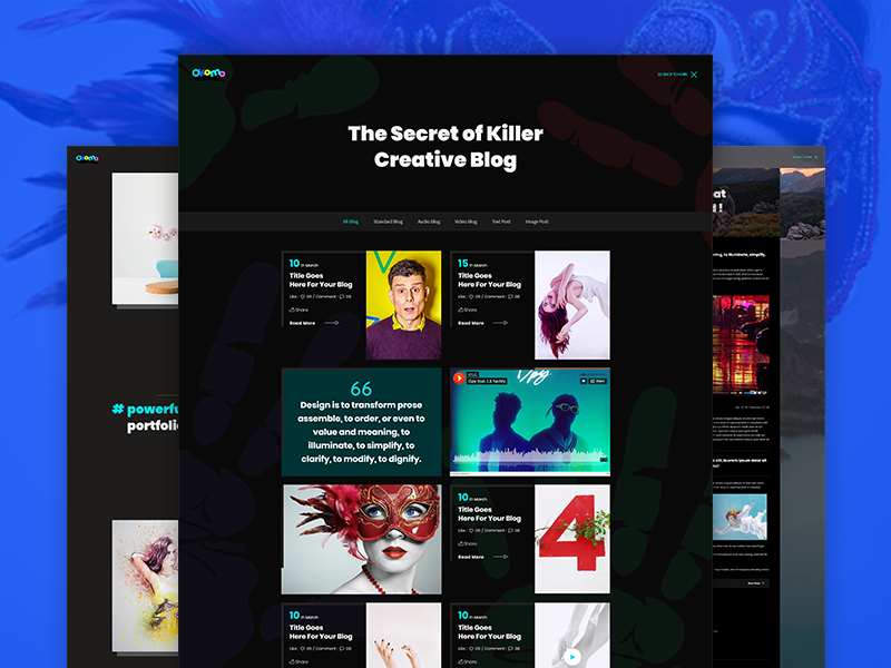 Okomo - Free Creative Portfolio Template