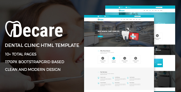 Decare-Dental-Clinic-HTML-Template