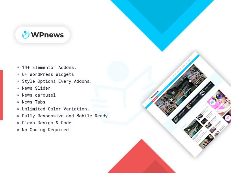 WP News – Free WordPress News / Magazine Theme
