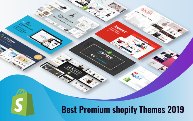 Best Premium Shopify Themes 2019