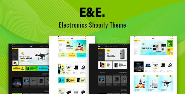 E&E – Electronics Shopify Theme + Dropshipping