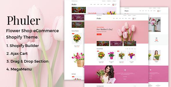 Phuler – Flower Shop Shopify Theme