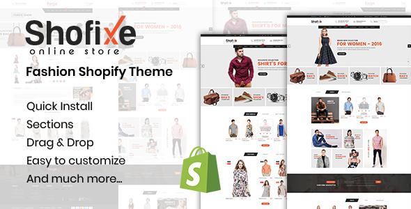 Shofixe – Fashion Shopify Theme