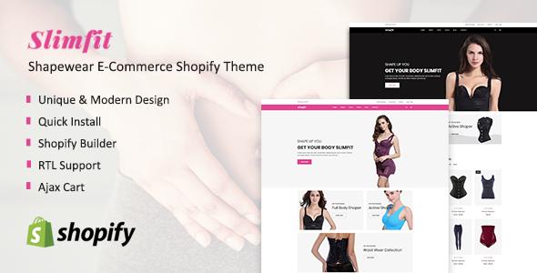 Shapewear E-Commerce Shopify Theme