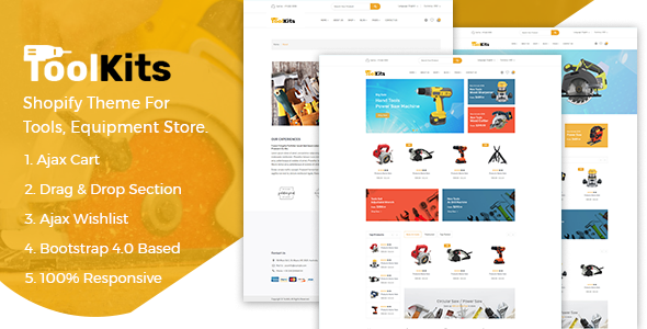 ToolKits – Shopify Theme for Tools, Equipment Store