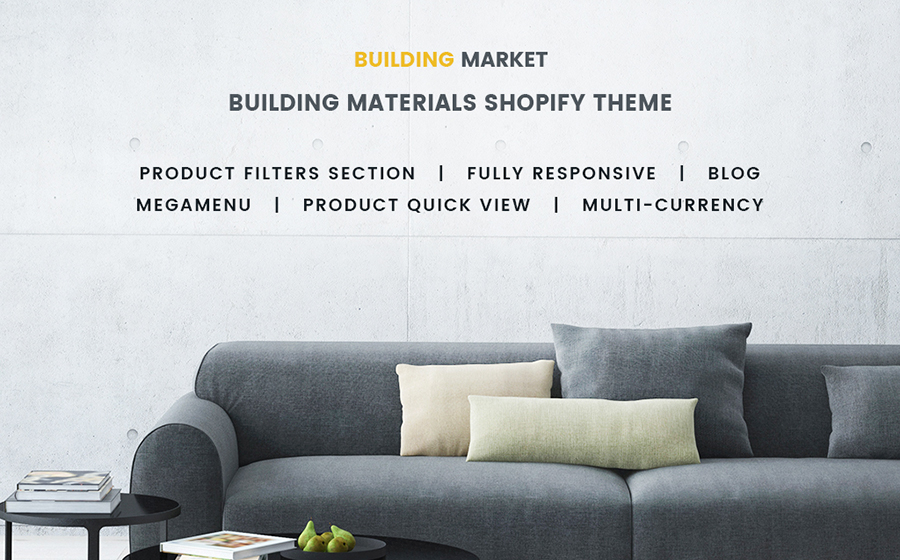 Buiding Materials Responsive Shopify Theme