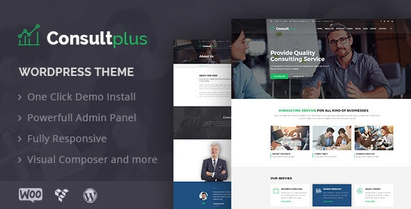 Business Consulting WP Theme