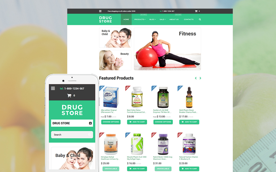 Medical Store Shopify Theme