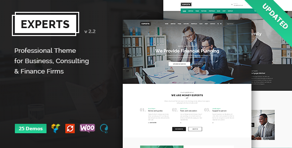 Finance Business & Consulting WordPress Theme