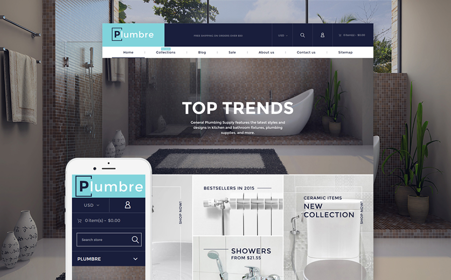 Plumbing Supply & Maintenance Shopify Theme