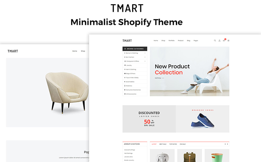 Minimalist Fashion Store Shopify Theme
