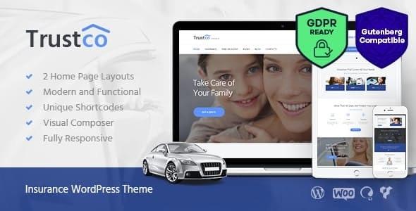 Insurance Agency & Business WordPress Theme