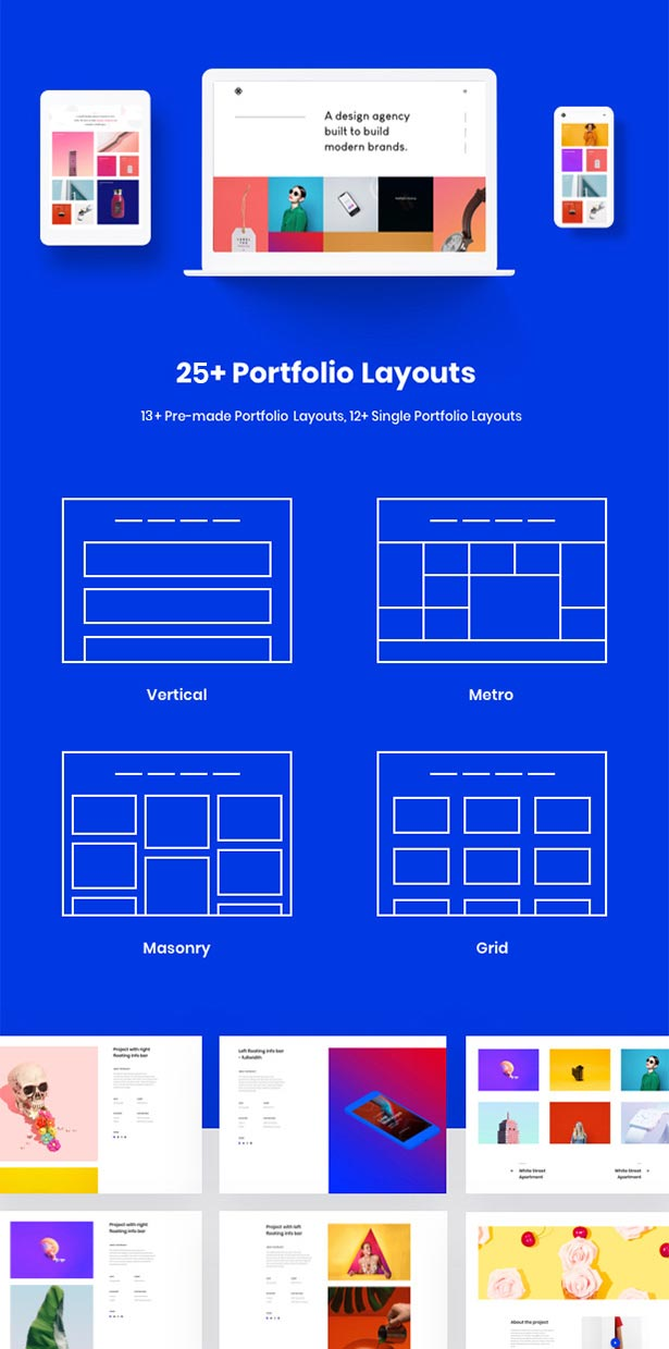 Brook - One of the bestselling HTML Template of 2019