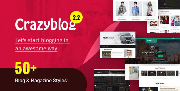 CrazyBlog - Start A Blog or Magazine for Adsense or Affiliate Business
