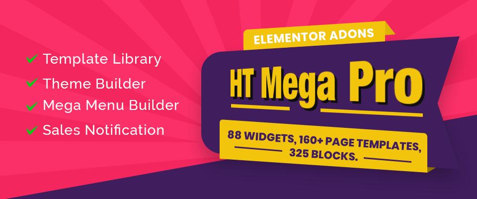 HT Mega - Best Elementor Addon