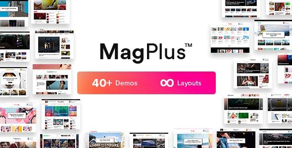 MagPlus - Blog, Magazine Elementor WordPress Theme