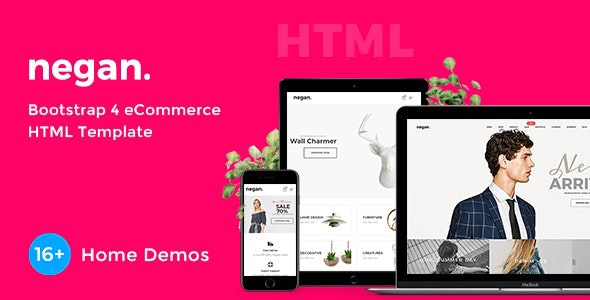 Best eCommerce HTML Templates