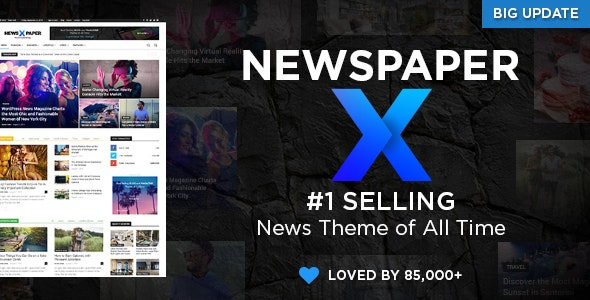 Newspaper - The Best News Magazine WordPress Theme
